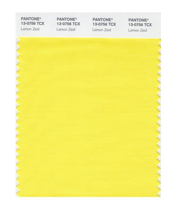 PANTONE SMART swatch 13-0756 TCX Lemon Zest