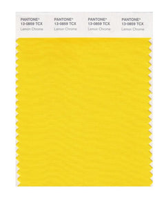 PANTONE SMART swatch 13-0859 TCX Lemon Chrome