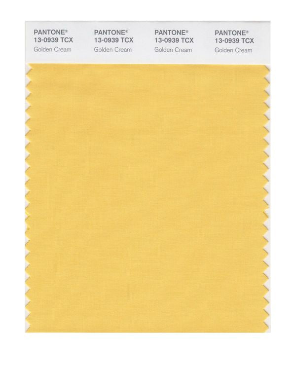 PANTONE SMART swatch 13-0939 TCX Golden Cream