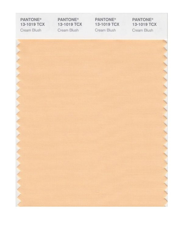 PANTONE SMART swatch 13-1019 TCX Cream Blush