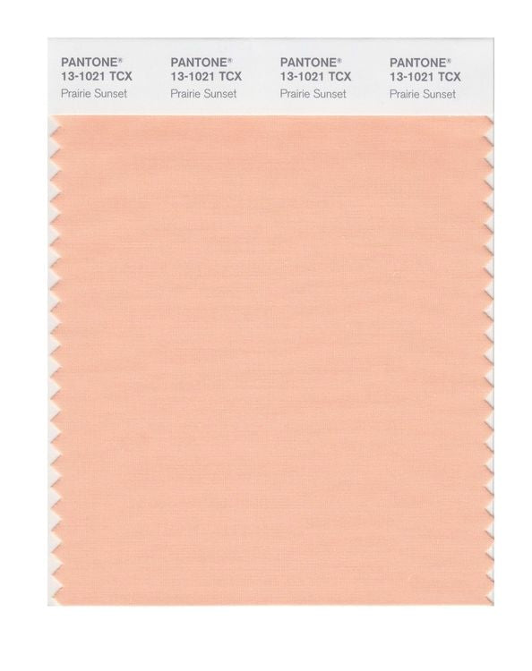 PANTONE SMART swatch 13-1021 TCX Prairie Sunset