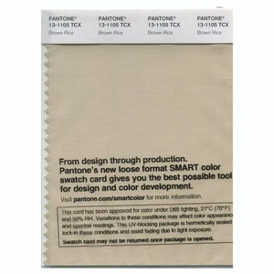 PANTONE SMART swatch 13-1105 TCX Brown Rice