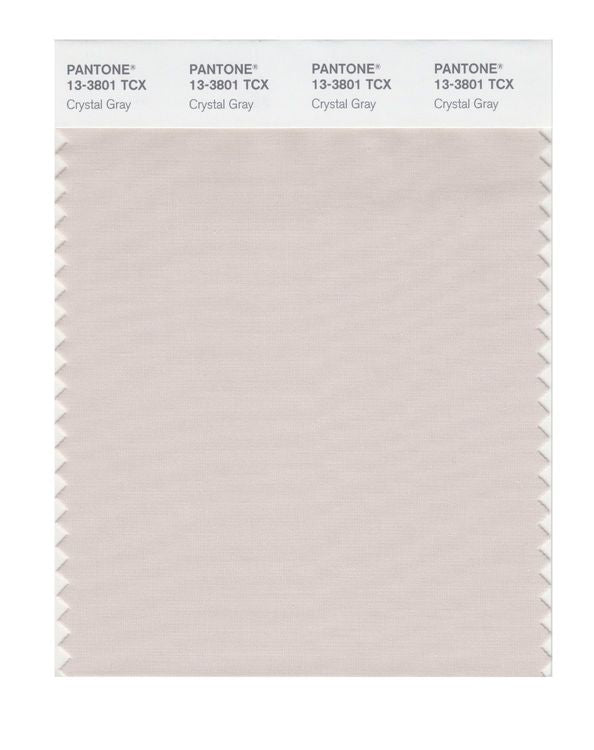 PANTONE SMART swatch 13-3801 TCX Crystal Gray