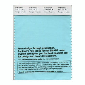 PANTONE SMART swatch 13-4720 TCX Tanager Turquoise