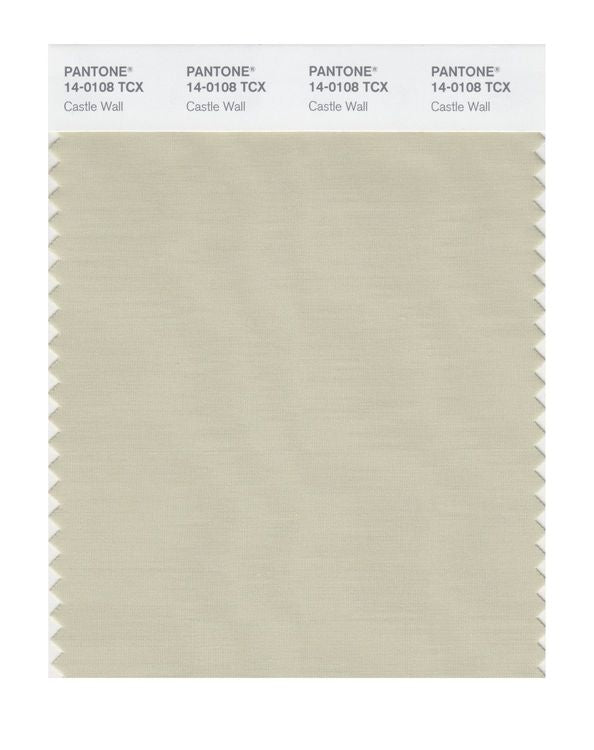 PANTONE SMART swatch 14-0108 TCX Castle Wall