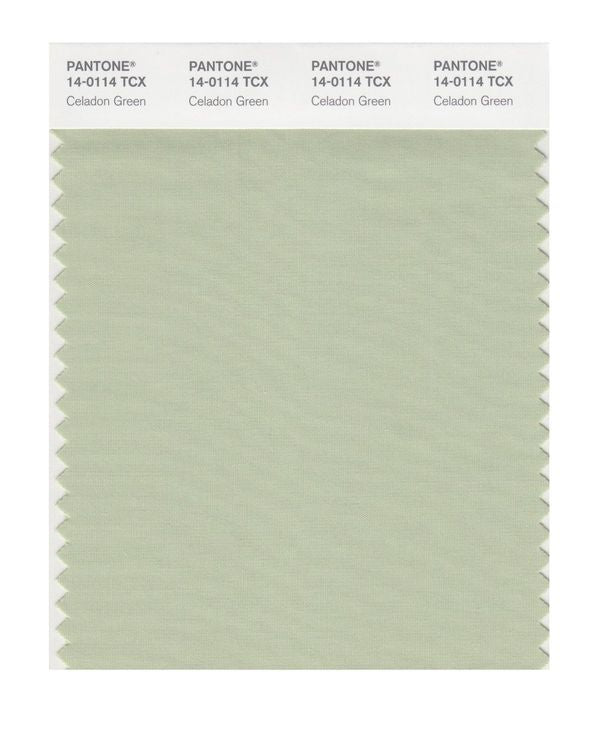 PANTONE SMART swatch 14-0114 TCX Celadon Green