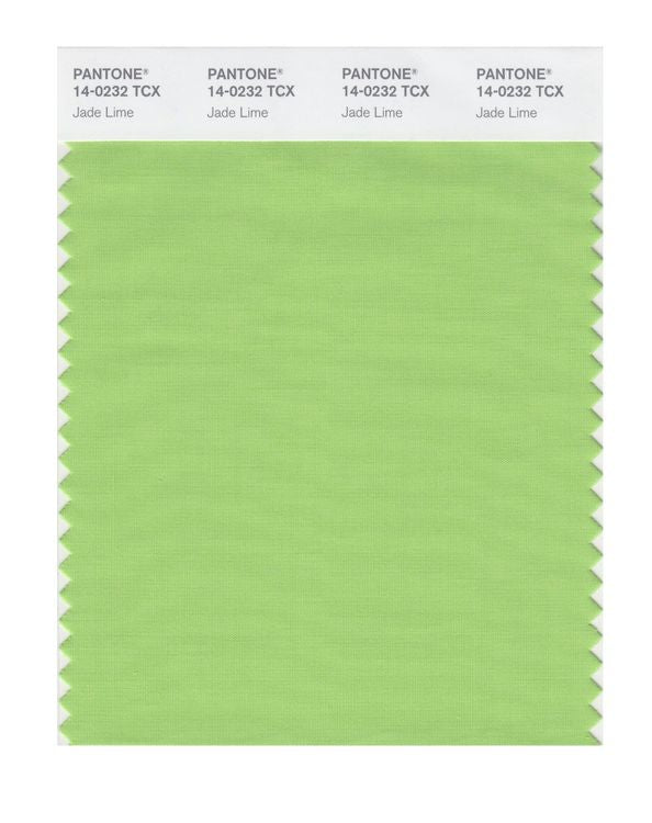 PANTONE SMART swatch 14-0232 TCX Jade Lime