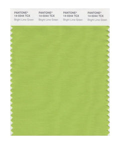 PANTONE SMART swatch 14-0244 TCX Bright Lime Green