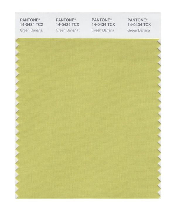 PANTONE SMART swatch 14-0434 TCX Green Banana