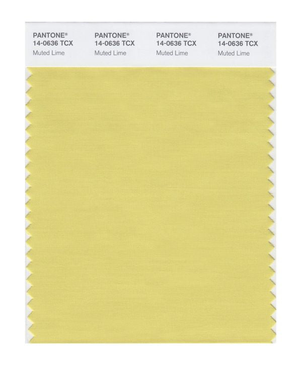 PANTONE SMART swatch 14-0636 TCX Muted Lime