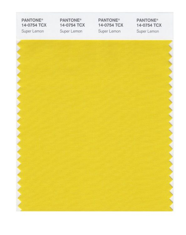PANTONE SMART swatch 14-0754 TCX Super Lemon
