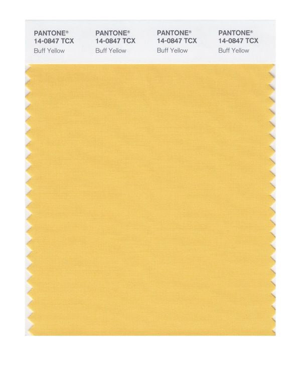 PANTONE SMART swatch 14-0847 TCX Buff Yellow