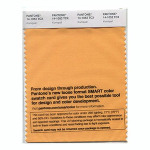 PANTONE SMART swatch 14-1052 TCX Kumquat