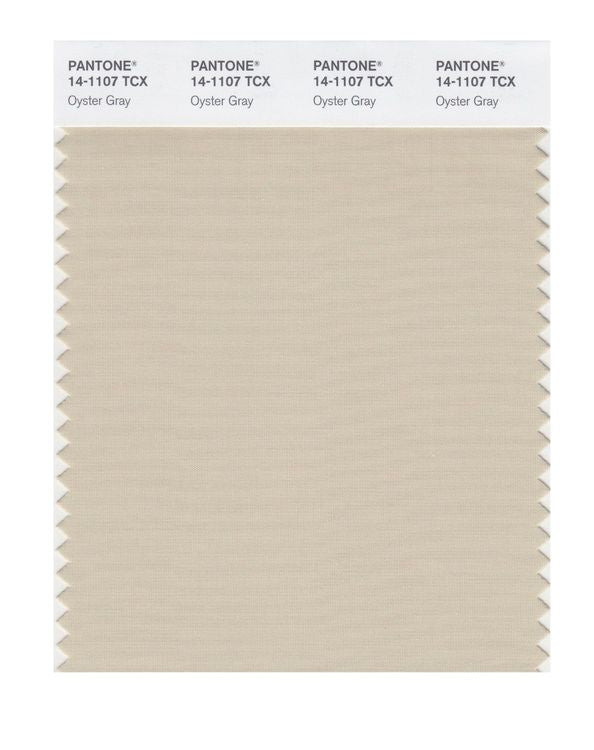 PANTONE SMART swatch 14-1107 TCX Oyster Gray