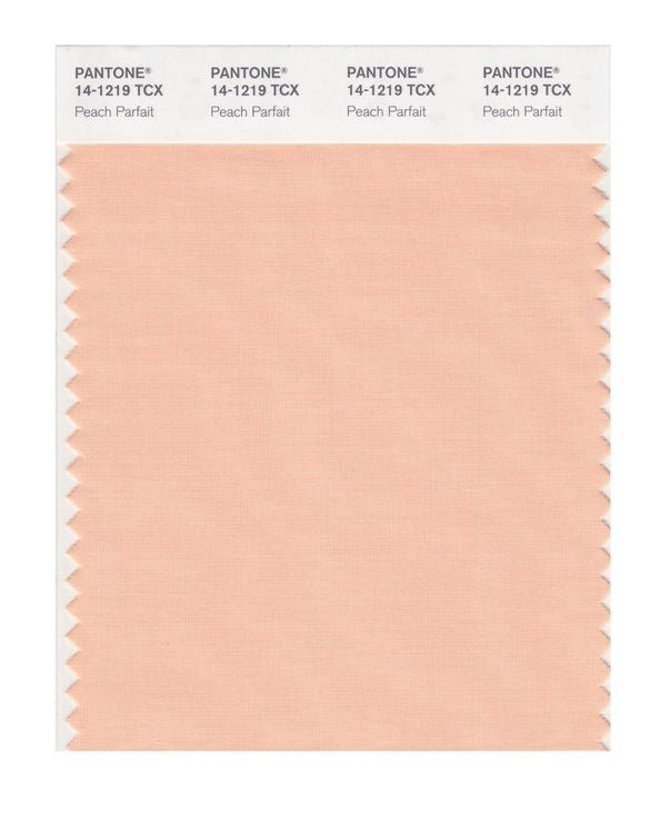 PANTONE SMART swatch 14-1219 TCX Peach Parfait