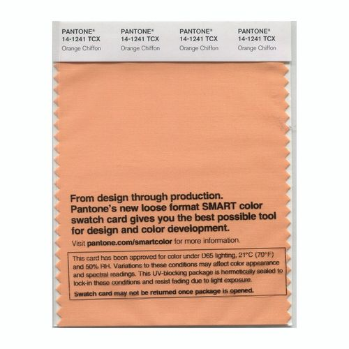 PANTONE SMART swatch 14-1241 TCX Orange Chiffon