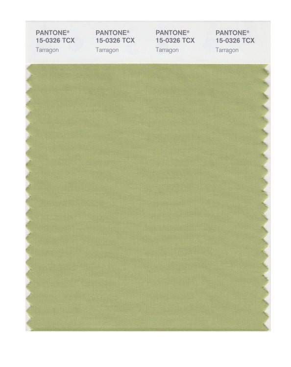 PANTONE SMART swatch 15-0326 TCX Tarragon