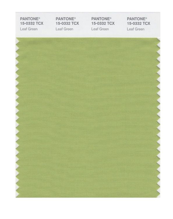 PANTONE SMART swatch 15-0332 TCX Leaf Green