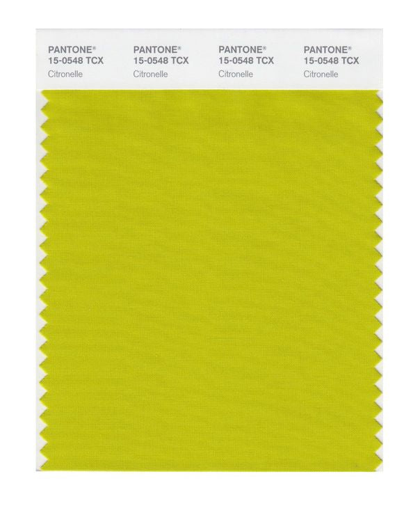 PANTONE SMART swatch 15-0548 TCX Citronelle