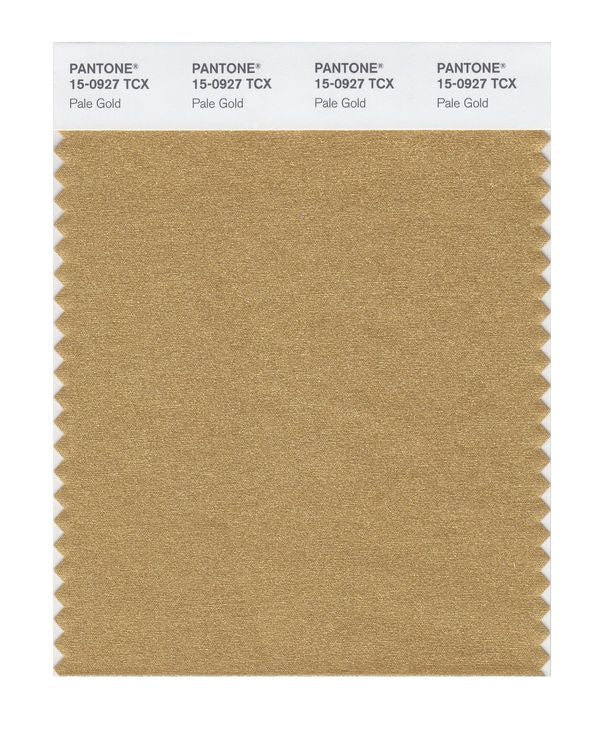 PANTONE SMART swatch 15-0927 TCX Pale Gold
