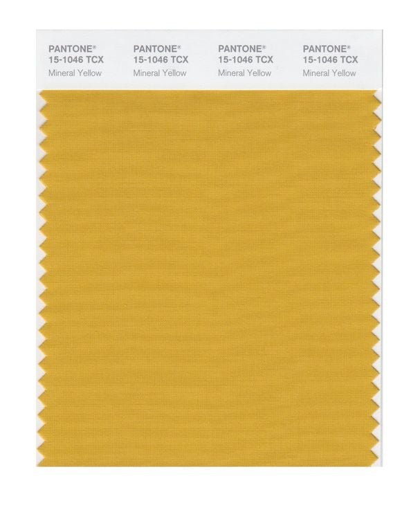 PANTONE SMART swatch 15-1046 TCX Mineral Yellow