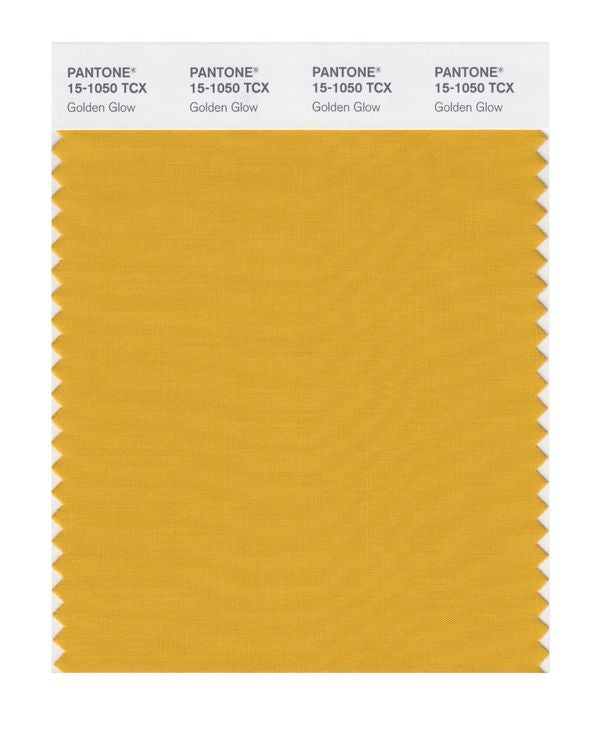 PANTONE SMART swatch 15-1050 TCX Golden Glow