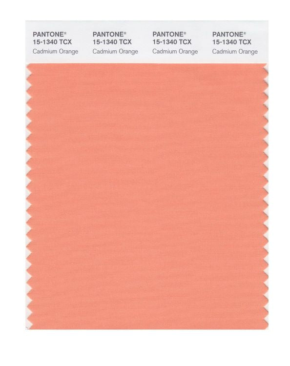 PANTONE SMART swatch 15-1340 TCX Cadmium Orange