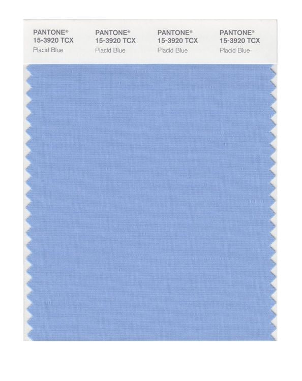 PANTONE SMART swatch 15-3920 TCX Placid Blue
