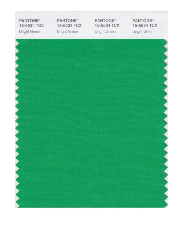 PANTONE SMART swatch 15-5534 TCX Bright Green