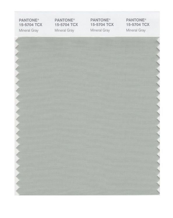 PANTONE SMART swatch 15-5704 TCX Mineral Gray