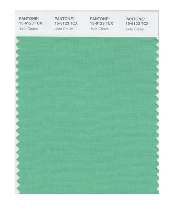PANTONE SMART swatch 15-6123 TCX Jade Cream