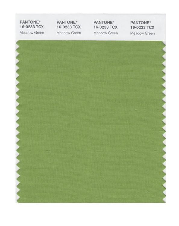 PANTONE SMART swatch 16-0233 TCX Meadow Green