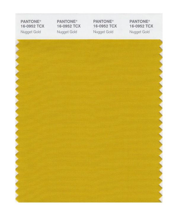 PANTONE SMART swatch 16-0952 TCX Nugget Gold