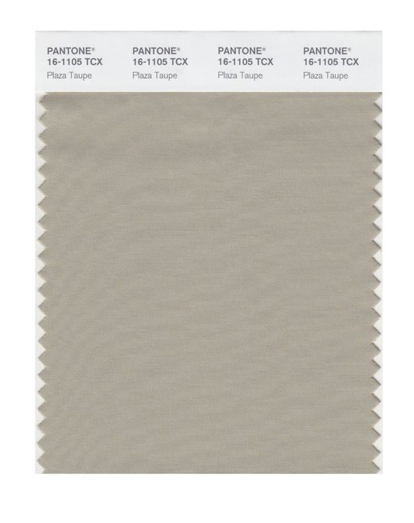 PANTONE SMART swatch 16-1105 TCX Plaza Taupe
