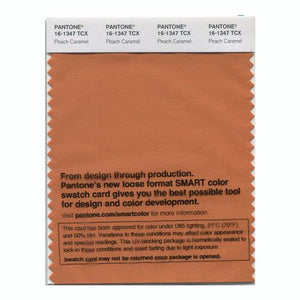 PANTONE SMART swatch 16-1347 TCX Peach Caramel