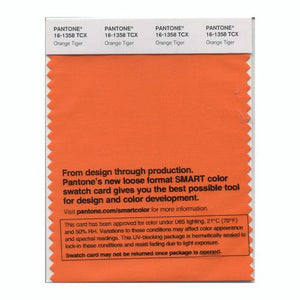 PANTONE SMART swatch 16-1358 TCX Orange Tiger