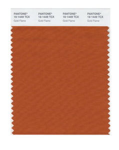 PANTONE SMART swatch 16-1449 TCX Gold Flame