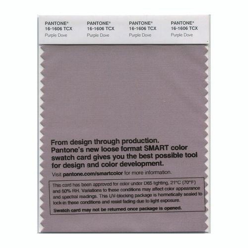 PANTONE SMART swatch 16-1606 TCX Purple Dove