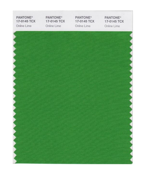 PANTONE SMART swatch 17-0145 TCX Online Lime