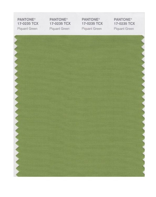 PANTONE SMART swatch 17-0235 TCX Piquant Green