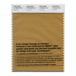 PANTONE SMART swatch 17-0949 TCX Chai Tea