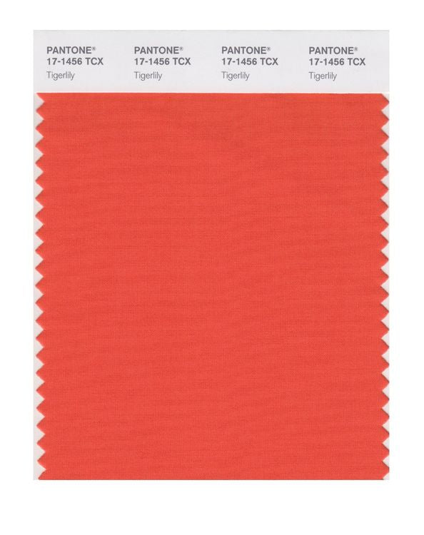 PANTONE SMART swatch 17-1456 TCX Tigerlily