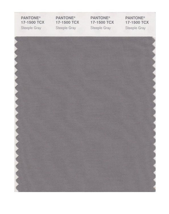 PANTONE SMART swatch 17-1500 TCX Steeple Gray