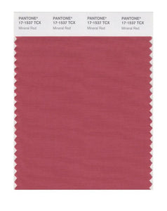 PANTONE SMART swatch 17-1537 TCX Mineral Red