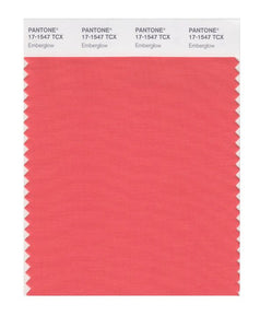 PANTONE SMART swatch 17-1547 TCX Emberglow