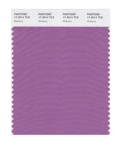 PANTONE SMART swatch 17-3014 TCX Mulberry