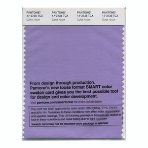 PANTONE SMART swatch 17-3735 TCX Sunlit Allium
