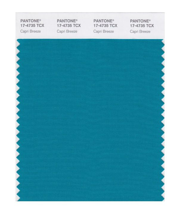 PANTONE SMART swatch 17-4735 TCX Capri Breeze