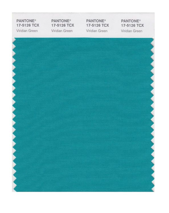 PANTONE SMART swatch 17-5126 TCX Viridian Green