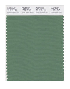 PANTONE SMART swatch 17-6219 TCX Deep Grass Green